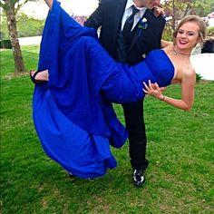 cheap Prom Dress,Prom Dresses,A-line Satin Prom Dresses,Royal Blue