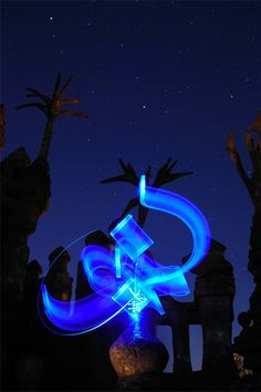Gallery of Light calligraphy - No Photoshop #typography
