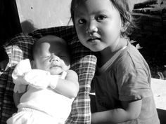 Mitha and little Chelsea