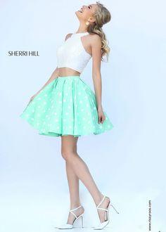 Sherri Hill 32244 Pearl Beaded 2-Piece Dress
