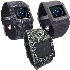 Fitbit Blaze Accessories Band, X4-TECH Silicon Bracelet Strap Replacement Band F #X4Tech