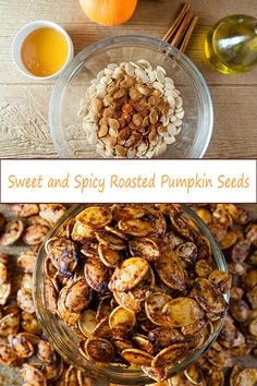 Sweet and Spicy Roasted Pumpkin Seeds Sweet and spicy r. Sweet and Spicy Roasted Pumpkin Seeds Sweet and spicy r. Flavored Pumpkin Seeds, Savory Pumpkin Seeds, Homemade Pumpkin Seeds, Toasted Pumpkin Seeds, Roast Pumpkin, Baking Pumpkin Seeds, Seasoned Pumpkin Seeds, Pumkin Seeds, Sprinkles