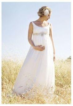Veja 25 vestidos de noiva para grávidas http://r7.com/RPM7