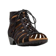 84e650fe62565 Women s Rockport Cobb Hill Gabby Gladiator Bootie ( 120) ❤ liked on Polyvore  featuring shoes