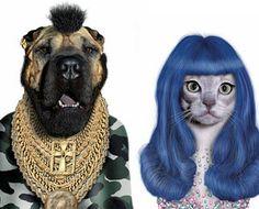 Pets Impersonate Celebrities