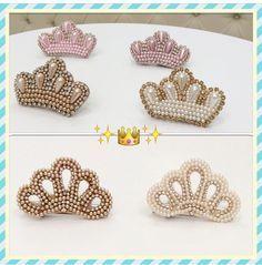 Bico de pato bordado de Coroa 3130 | Royal princess | Elo7