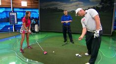 School of Golf's Martin Hall and Holly Sonders are joined by 2010 Re/Max Long Drive Champion Joe Miller for a lesson on crushing the driver.