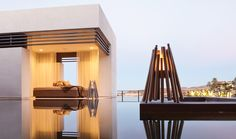 Contemporary design ideas for pool houses complement your outdoor lounge - Decoration 4