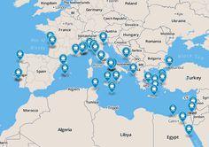 Best Rated Shore Excursions & Cruise Excursions in Mediterranean / European Atlantic
