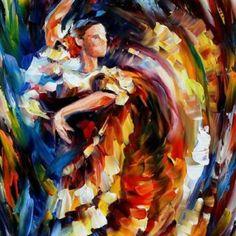 Leonid Afremov (Vitebsk, União Soviética, 1955) é um pintor israelense de origem bielorrussa. É conhecido por seus quadros coloridos e alegres e por sua técnica de pintura peculiar: uso de espátula para pintura com tinta a óleo.