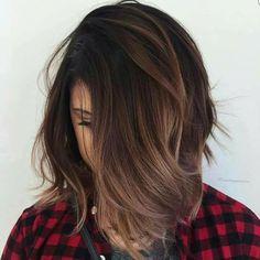 Balayage brunette