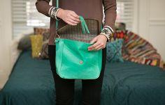 Add some neon to your 'drobe. #closet #fashionista