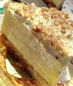 """Η Συνταγή είναι της κ.  Tzeni Tsanaktsidou  – """"ΑΓΑΠΑΜΕ ΜΑΓΕΙΡΙΚΗ!!!!! ΑΓΑΠΑΜΕ ΖΑΧΑΡΟΠΛΑΣΤΙΚΗ!!!!!!""""    ΥΛΙΚΑ - ΕΚΤΕΛΕΣΗ   ΚΑΝΤΑΙΦΙ:  500 γραμμαρια κανταιφι,  250 γραμμαρια αγελαδινο βουτυρο!    Βαζουμε το κανταιφι στο ταψι,και το ανοιγουμε παρα πολυ καλα ριχνουμε πανω του το Greek Cake, Lunch Recipes, Cooking Recipes, Greek Pastries, The Kitchen Food Network, Mumbai Street Food, Greek Sweets, Dairy Free Diet, Greek Dishes"""