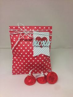 Garden of Creativity: For my sweetheart Valentine's Day treat holders Stampin' Up! Sweetheart treat bags make a simple and fun way to give a treat to your sweetheart this year!