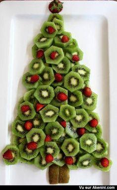 Recettes marrantes Noël - Funny Art Food Christmas