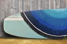 Good Vibes. Good Surf. Good Towel. Blue Lagoon Round Towel.