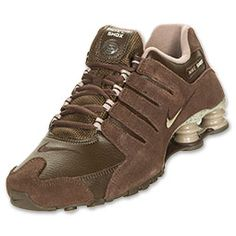 low priced f4dba c636e Nike Shox NZ EU Men s Running Shoes   FinishLine.com   Brown Sail