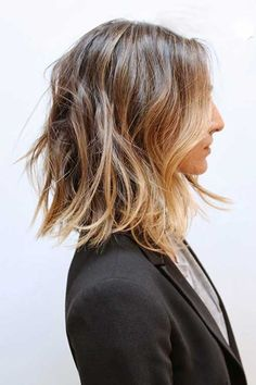 Long bob hairstyles and haircuts are easy to wear but require a quick styling method. You can style your lob as a down up do or lift your locks in a sort