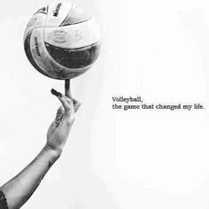 I love volleyball<3