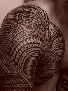 Highly detailed and intricate tattoo design