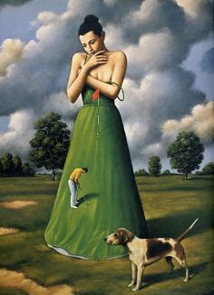Rafal Olbinski is a Polish illustrator, painter, and educator, living in the United States.
