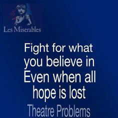 Theatre Problems: Les Miserables ❤️