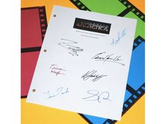 "Battlestar Galactica ""Pilot"" Episode TV Script Autographed: Tricia Helfer, Edward James Olmos, Grace Park, Mary McDonnell, Katee Sackhoff"