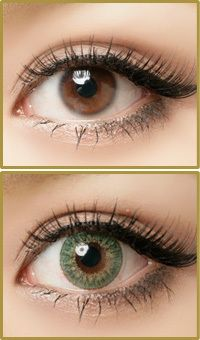 Geo Tri Color Green Lens CM-903 (Berry Berry Chessy)