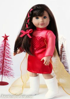 American Girl Doll Hairstyles are not as hard as you think and can be fixed at home! Get your 18 inch doll out and create a fabulous hairstyle today!