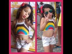 Crochet Toddler, Crochet For Kids, Crochet Baby, Crochet Top, Cute Young Girl, Cute Little Girls, Crochet Halter Tops, Crochet Bikini, Baby Girl Dresses