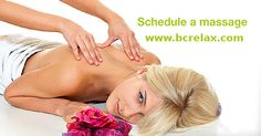 Whether your need is to have a moment of #relaxation, reduce muscle tension or attain relief from chronic pain, a #massage can enhance your overall sense of emotional and physical well-being. Please contact us for scheduling or more information. http://www.bcrelax.com/