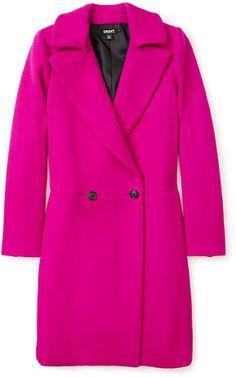 What a gorgeous colour! Love winter coats