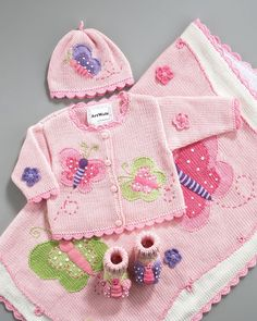 Knitted baby dress, vest, cardigan, sweater, overalls patterns - Baby Patterns Knitting an Crochet