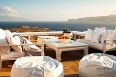 Main Terrace - Villa Eurydice - Mykonos - rentals    http://www.flipkey.com/mykonos-vacation-rentals/p148399/#    #flipkey #greece #ocean