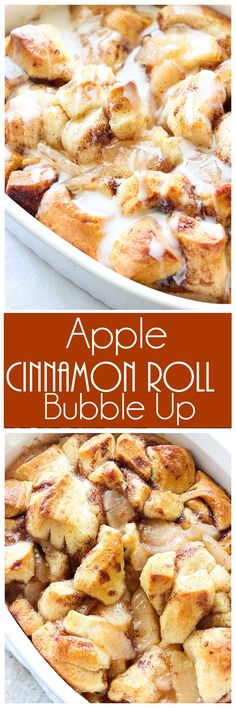 In just 5 minutes or less you can have this Apple Cinnamon Roll Bubble Up in the oven. It's so easy to make that your little ones could do it.