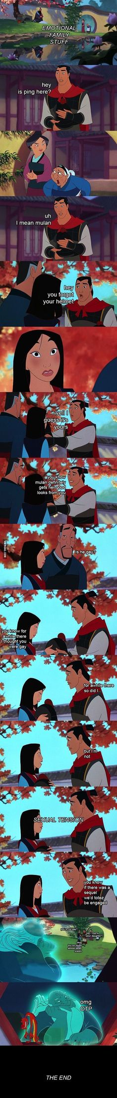 Mulan: Shang's Journey of Self Discovery Part VI