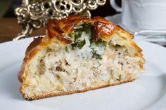 Pastel de patatas y pollo