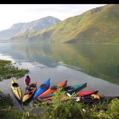 Lake Of Toba, North of Sumatra Indonesia