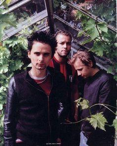 Matt, Chris and Dom :) #MUSE