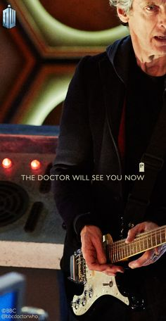 The Doctor will see you, now. http://bbc.in/1GmW19d