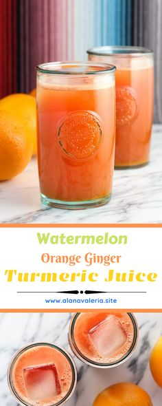 Watermelon Orange Ginger Turmeric Juice This summer, amid a generous share of tacos, draaanks, and ice cream, I've picked […] Turmeric Juice, Ginger Juice, Easy Homemade Recipes, Paleo Recipes Easy, Mama Recipe, Recipe For Mom, Fitness Nutrition, Diet And Nutrition, Nutrition Articles