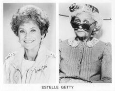 Estelle Getty like a true beauty Estelle Getty, 4 Best Friends, Golden Girls, Silent Film, The Good Old Days, Famous Faces, True Beauty, Favorite Tv Shows, Favorite Things