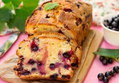 Fekete ribizlis kevert süti - Recept | Femina Banana Bread, Tart, French Toast, Muffin, Healthy Eating, Healthy Recipes, Breakfast, Food, Impression