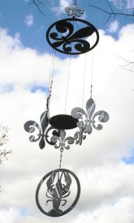Fleur de wind chime with crawfish sail. I want this.
