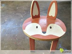 Sunnyside Up-stairs: Woodland Animal Stools