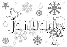 Vi växer så det knakar - Målarbilder med januari, februari och mars Bullet Journal Christmas, Spring Term, Elsa Beskow, Tracing Letters, In Kindergarten, Preschool Activities, Montessori, Back To School, Education