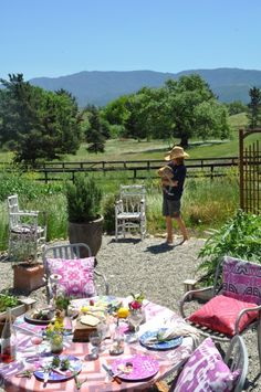 a recent photo shoot...the kids love getting involved...so do the critters....this is our small potager...tp
