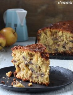 Apple and nut cake {gluten free, dairy free, without .- Apple and nut cake {gluten free, dairy free, egg free} – L´Exquisit - Sugar Free Desserts, Gluten Free Desserts, Vegan Gluten Free, Gluten Free Recipes, Dairy Free, Healthy Cake, Healthy Desserts, Apple Recipes, Sweet Recipes