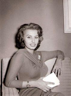 Sophia Loren , 1956
