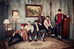 B.A.P 6th single album <ROSE> 그룹 티저 이미지(Group Teaser Image)  #BAP #FF0000 #ROSE